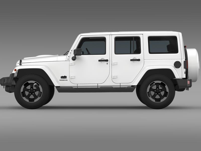 jeep wrangler polar 2014 3d model 3ds max fbx c4d lwo ma mb hrc xsi obj 160326