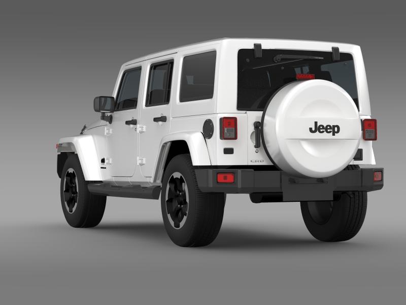 jeep wrangler polar 2014 3d model 3ds max fbx c4d lwo ma mb hrc xsi obj 160328
