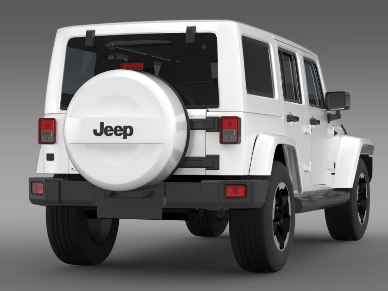jeep wrangler polar 2014 3d model 3ds max fbx c4d lwo ma mb hrc xsi obj 160329