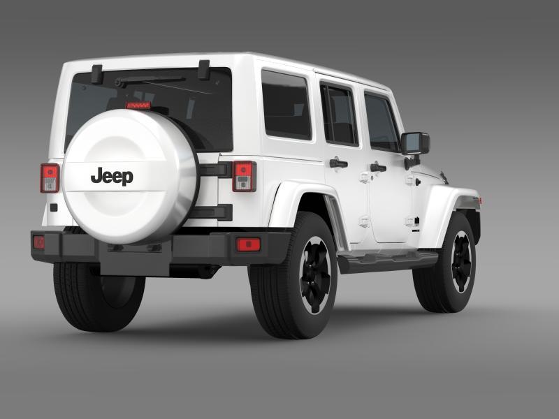 jeep wrangler polar 2014 3d model 3ds max fbx c4d lwo ma mb hrc xsi obj 160330