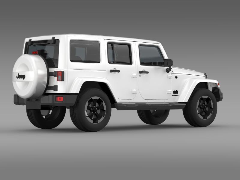 jeep wrangler polar 2014 3d model 3ds max fbx c4d lwo ma mb hrc xsi obj 160331