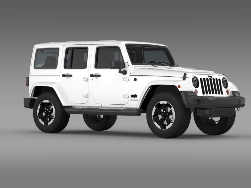 jeep wrangler polar 2014 3d model 3ds max fbx c4d lwo ma mb hrc xsi obj 160333