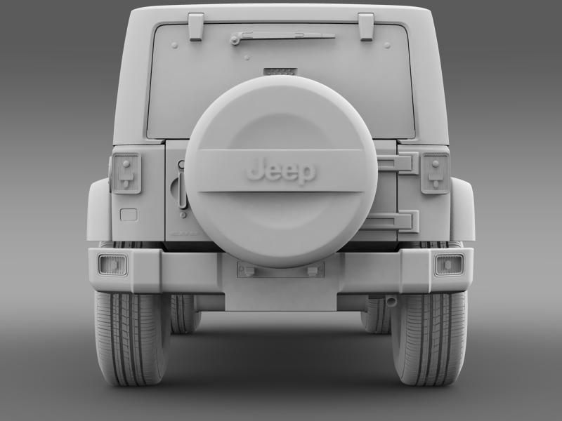 jeep wrangler polar 2014 3d model 3ds max fbx c4d lwo ma mb hrc xsi obj 160335