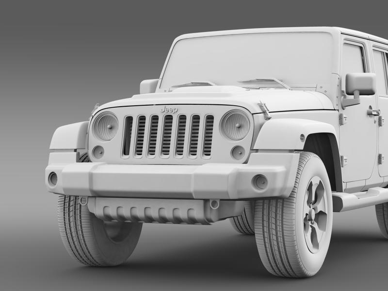 jeep wrangler polar 2014 3d model 3ds max fbx c4d lwo ma mb hrc xsi obj 160338