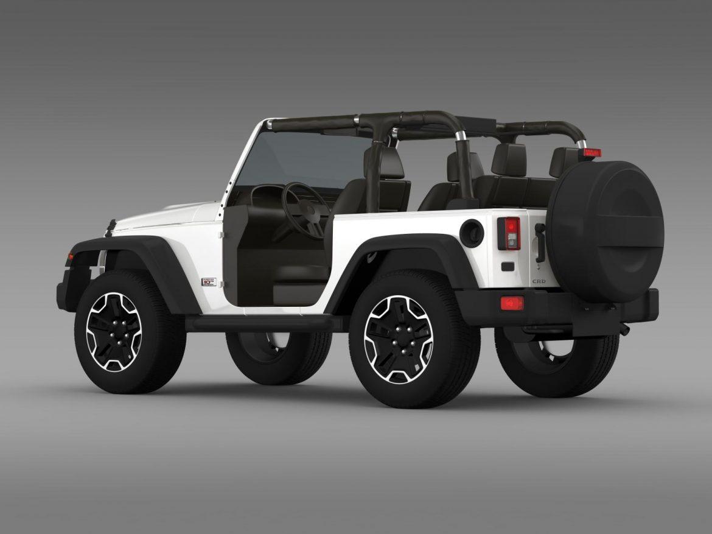 jeep wrangler rubicon 10th évforduló 2014 3d modell 3ds max fbx c4 lwo ma mb hrc xsi obj 164833