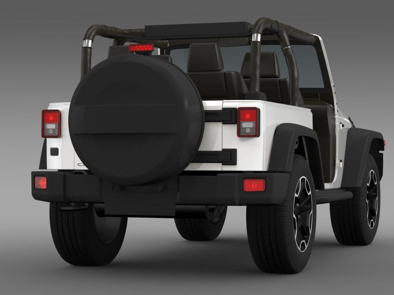 jeep wrangler rubicon 10th évforduló 2014 3d modell 3ds max fbx c4 lwo ma mb hrc xsi obj 164835
