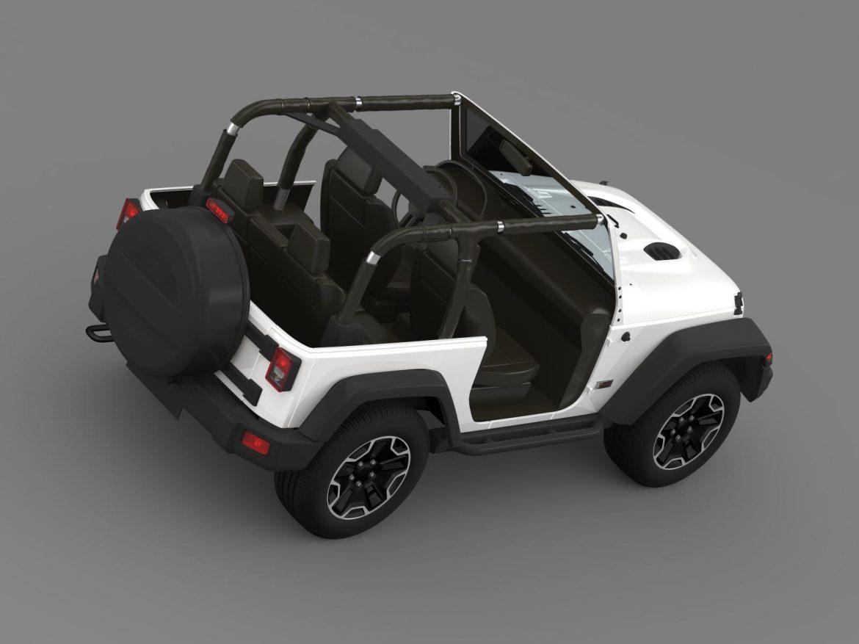 jeep wrangler rubicon 10th évforduló 2014 3d modell 3ds max fbx c4 lwo ma mb hrc xsi obj 164836