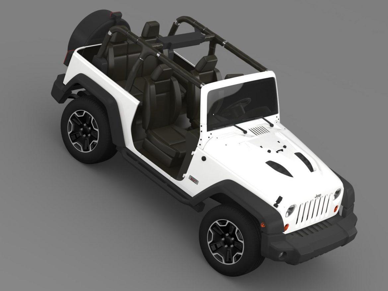 jeep wrangler rubicon 10th évforduló 2014 3d modell 3ds max fbx c4 lwo ma mb hrc xsi obj 164838