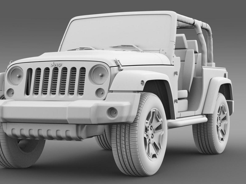 jeep wrangler rubicon 10th évforduló 2014 3d modell 3ds max fbx c4 lwo ma mb hrc xsi obj 164841