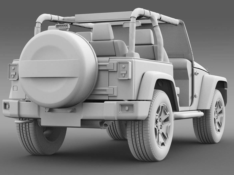 jeep wrangler rubicon 10th évforduló 2014 3d modell 3ds max fbx c4 lwo ma mb hrc xsi obj 164842