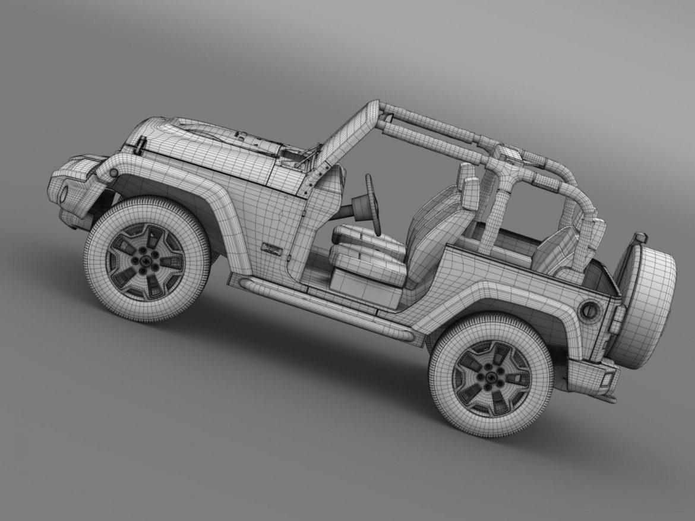 jeep wrangler rubicon 10th évforduló 2014 3d modell 3ds max fbx c4 lwo ma mb hrc xsi obj 164844