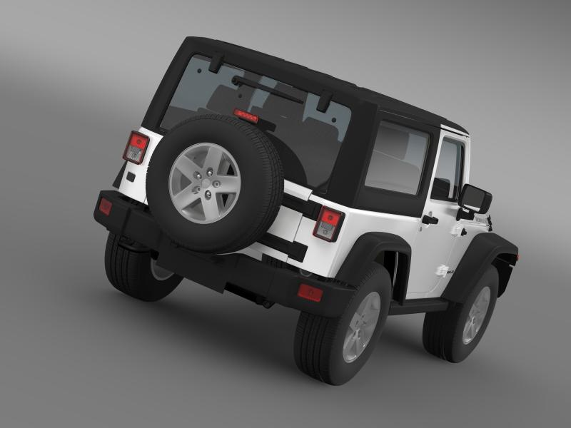 jeep wrangler rubicon 2012 3d model 3ds max fbx c4d lwo ma mb hrc xsi obj 160185