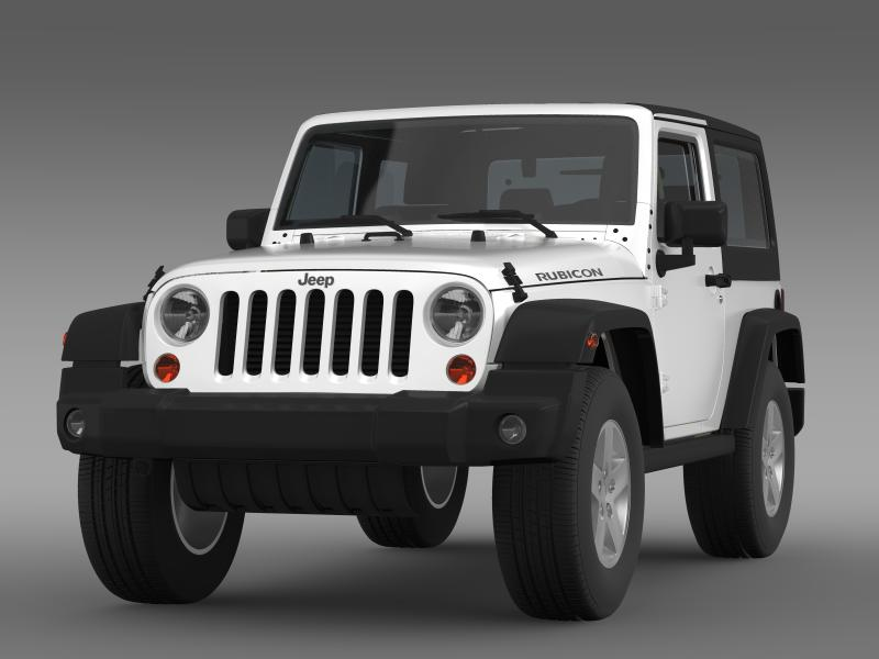 jeep wrangler rubicon 2012 3d model 3ds max fbx c4d lwo ma mb hrc xsi obj 160186