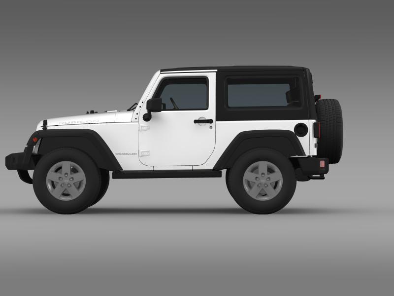 jeep wrangler rubicon 2012 3d model 3ds max fbx c4d lwo ma mb hrc xsi obj 160189