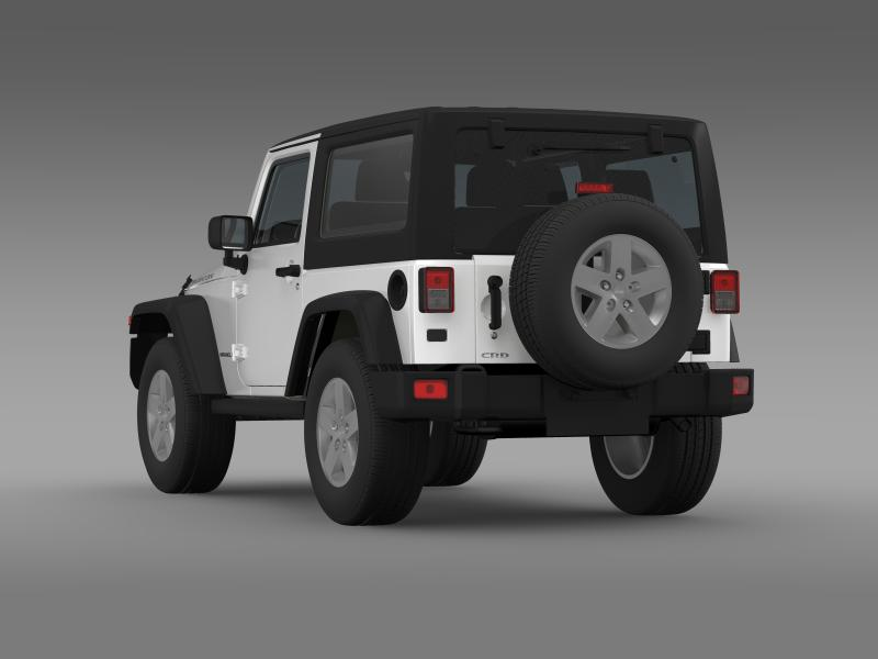 jeep wrangler rubicon 2012 3d model 3ds max fbx c4d lwo ma mb hrc xsi obj 160191