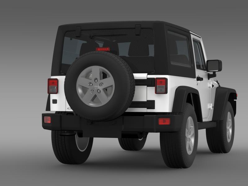 jeep wrangler rubicon 2012 3d model 3ds max fbx c4d lwo ma mb hrc xsi obj 160192