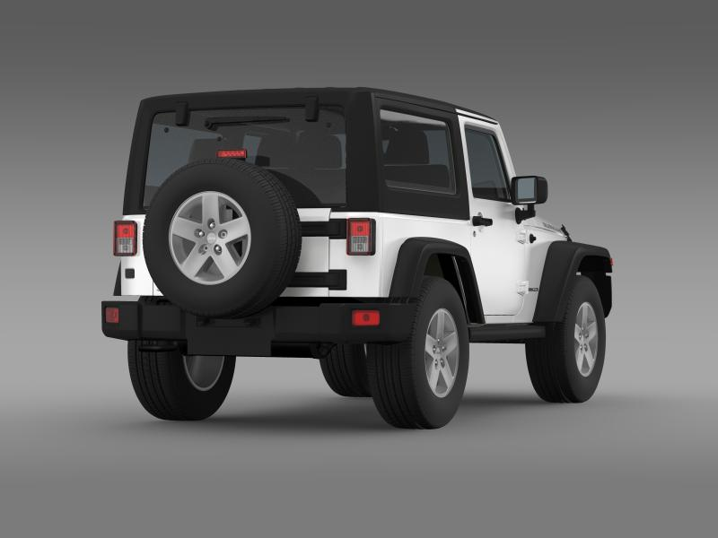 jeep wrangler rubicon 2012 3d model 3ds max fbx c4d lwo ma mb hrc xsi obj 160193