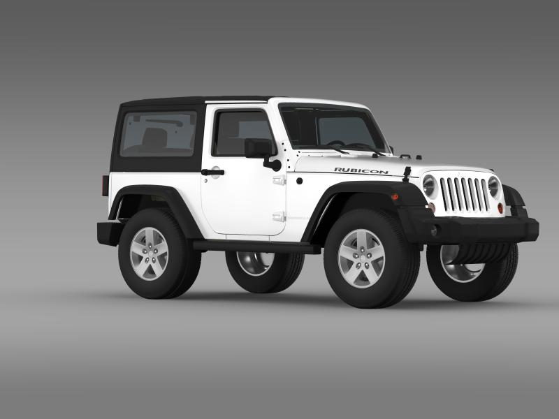 jeep wrangler rubicon 2012 3d model 3ds max fbx c4d lwo ma mb hrc xsi obj 160196