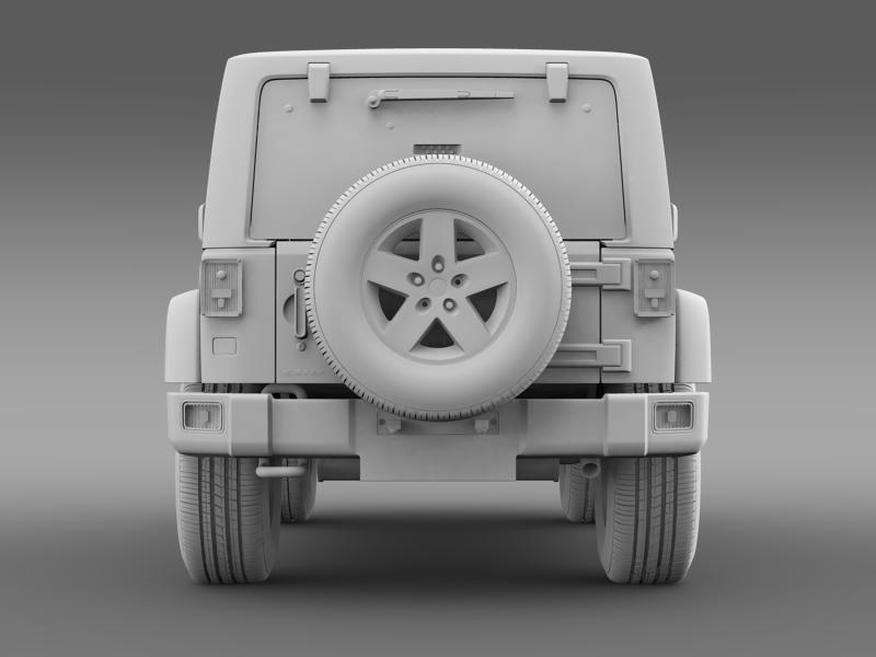 jeep wrangler rubicon 2012 3d model 3ds max fbx c4d lwo ma mb hrc xsi obj 160199