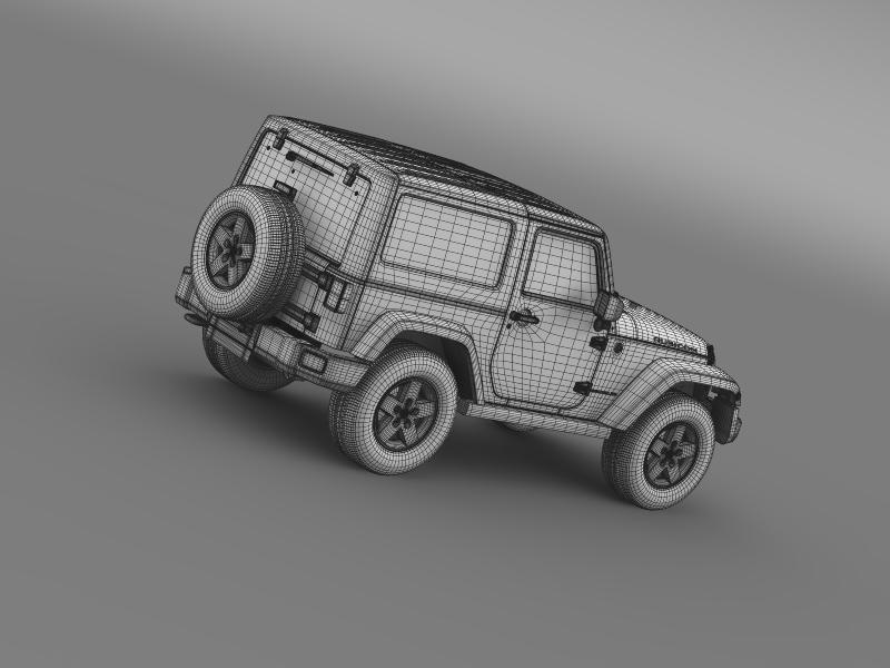 jeep wrangler rubicon 2012 3d model 3ds max fbx c4d lwo ma mb hrc xsi obj 160202