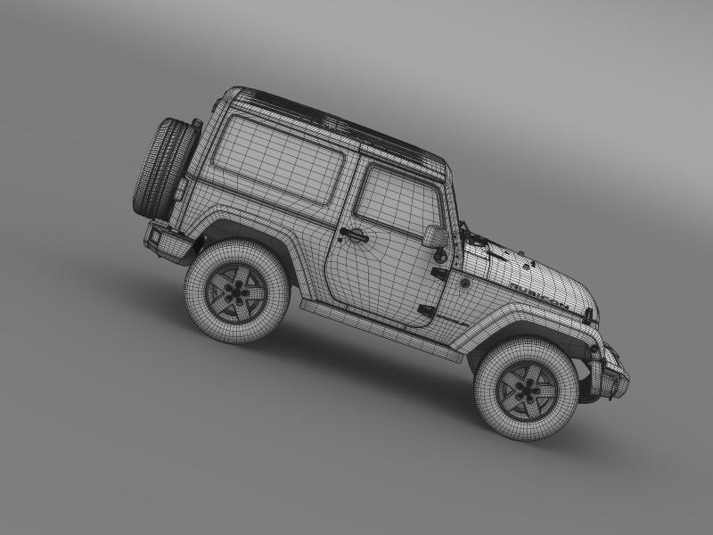 jeep wrangler rubicon 2012 3d model 3ds max fbx c4d lwo ma mb hrc xsi obj 160203