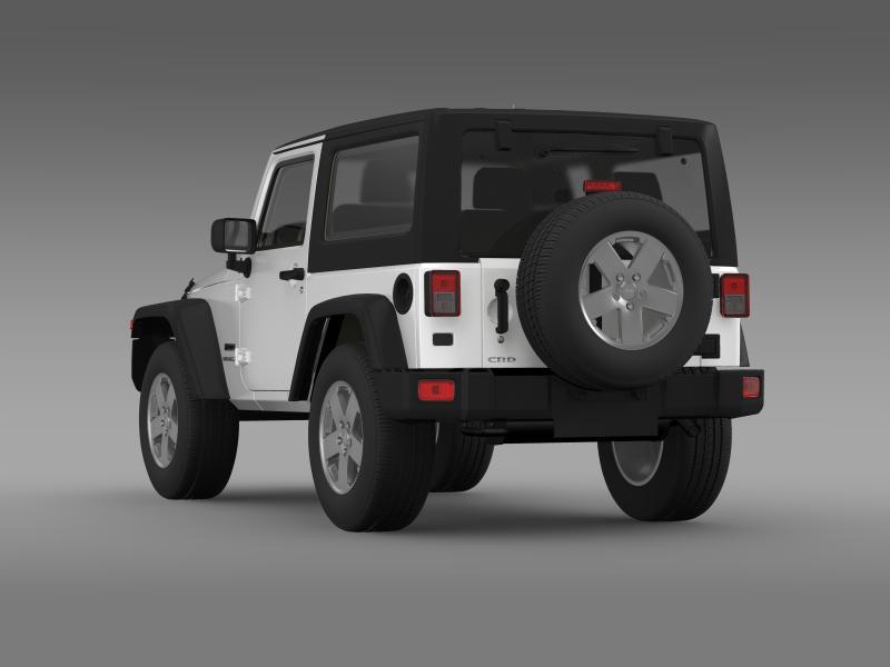 jeep wrangler uk sport 2008 3d model 3ds max fbx c4d lwo ma mb hrc xsi obj 160212