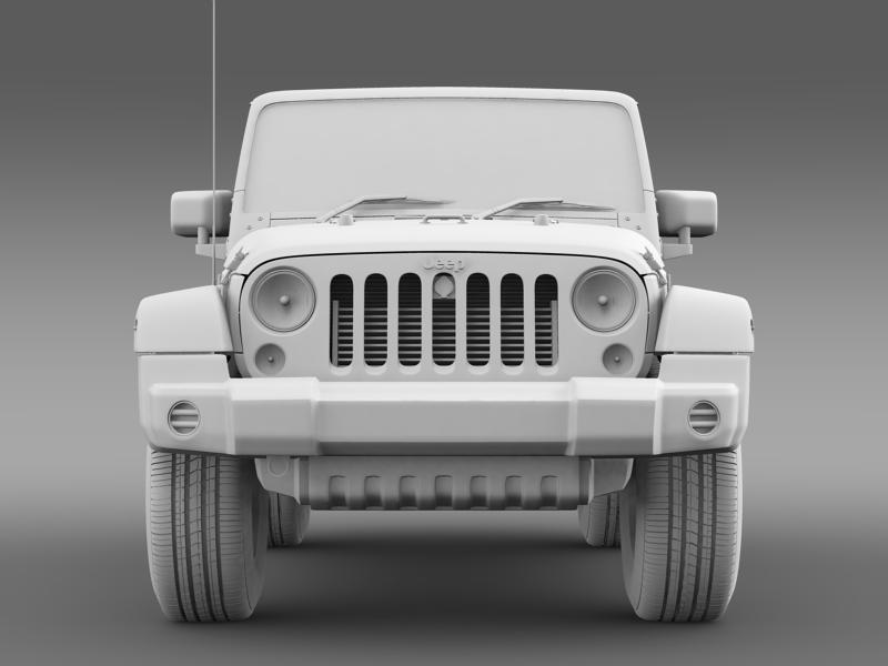 jeep wrangler uk sport 2008 3d model 3ds max fbx c4d lwo ma mb hrc xsi obj 160219
