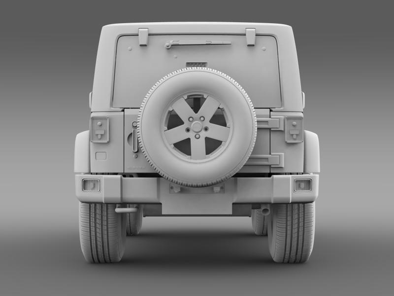 jeep wrangler uk sport 2008 3d model 3ds max fbx c4d lwo ma mb hrc xsi obj 160220