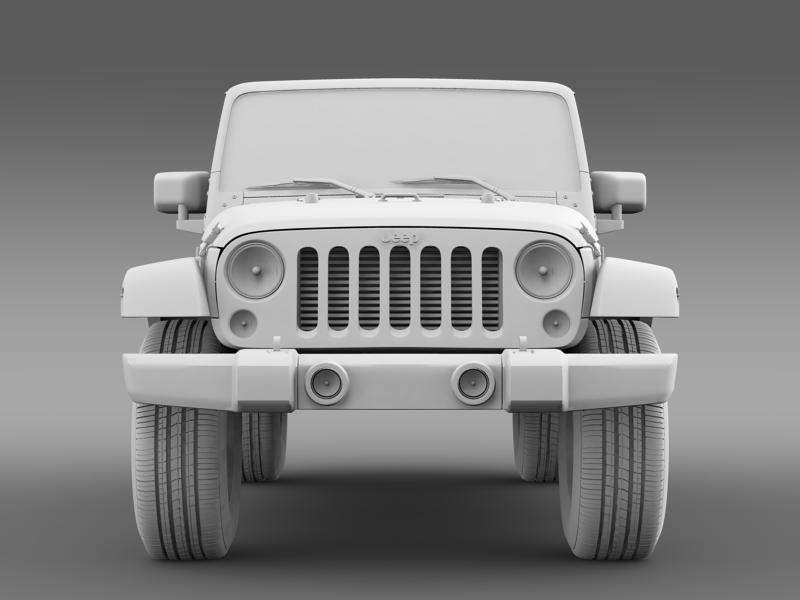 jeep wrangler unlimited 2011 3d model 3ds max fbx c4d lwo ma mb hrc xsi obj 160240