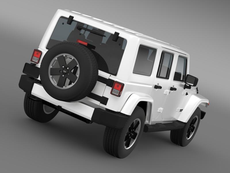 jeep wrangler unlimited altitude 2012 3d model 3ds max fbx c4d lwo ma mb hrc xsi obj 160248