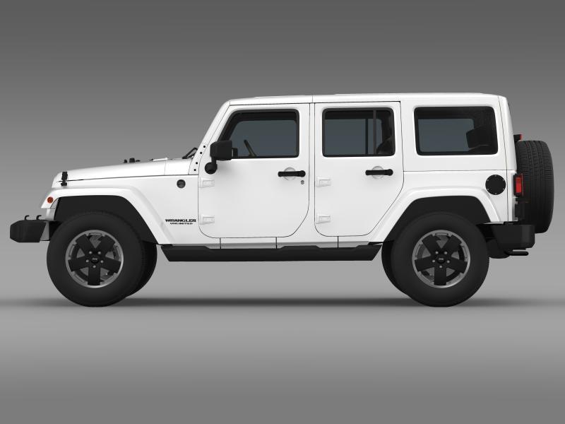 jeep wrangler unlimited altitude 2012 3d model 3ds max fbx c4d lwo ma mb hrc xsi obj 160252