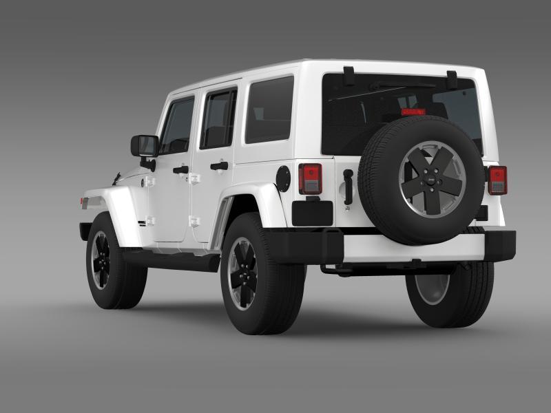 jeep wrangler unlimited altitude 2012 3d model 3ds max fbx c4d lwo ma mb hrc xsi obj 160254