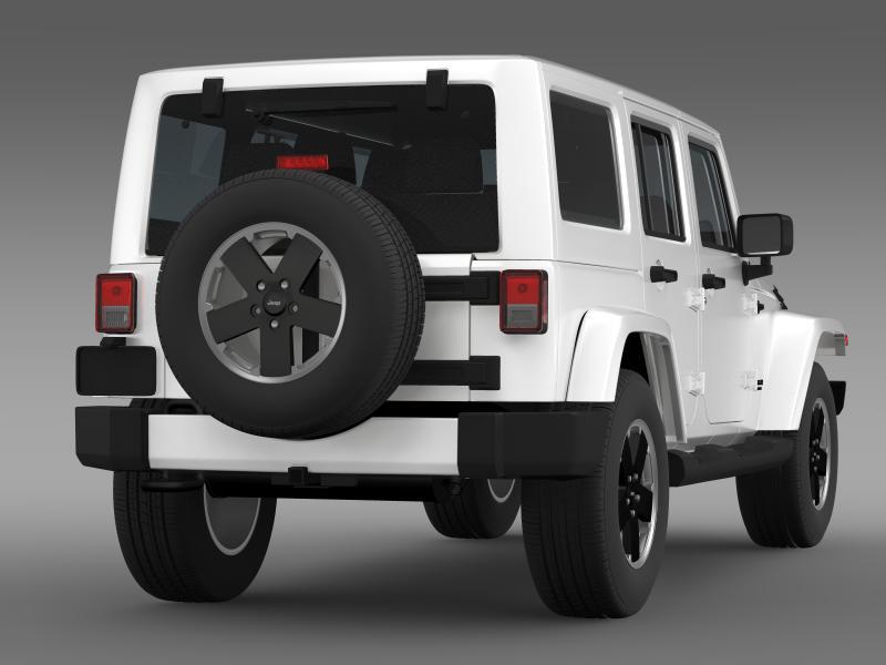 jeep wrangler unlimited altitude 2012 3d model 3ds max fbx c4d lwo ma mb hrc xsi obj 160255