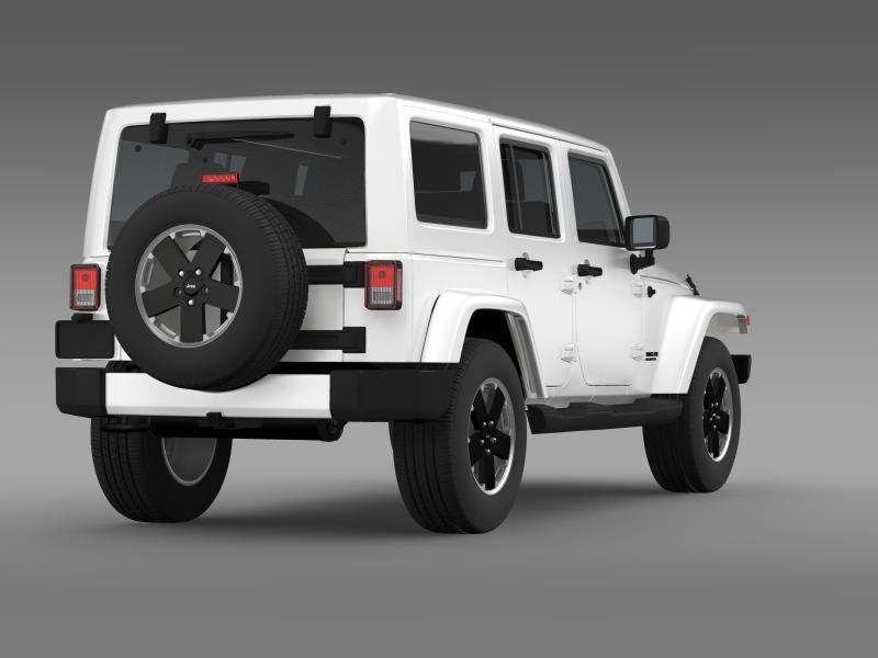 jeep wrangler unlimited altitude 2012 3d model 3ds max fbx c4d lwo ma mb hrc xsi obj 160256