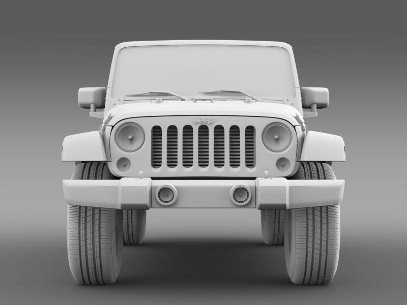 jeep wrangler unlimited altitude 2012 3d model 3ds max fbx c4d lwo ma mb hrc xsi obj 160261