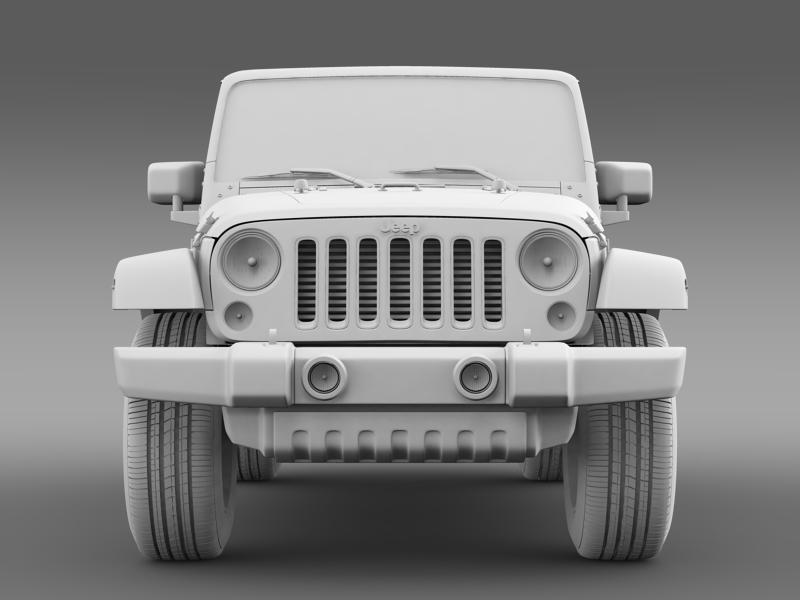 jeep wrangler unlimited altitude 2014 3d model 3ds max fbx c4d lwo ma mb hrc xsi obj 160356