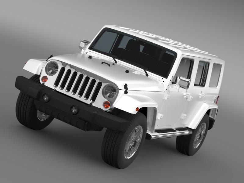 jeep wrangler unlimited envi 3d model 3ds max fbx c4d lwo ma mb hrc xsi obj 160268