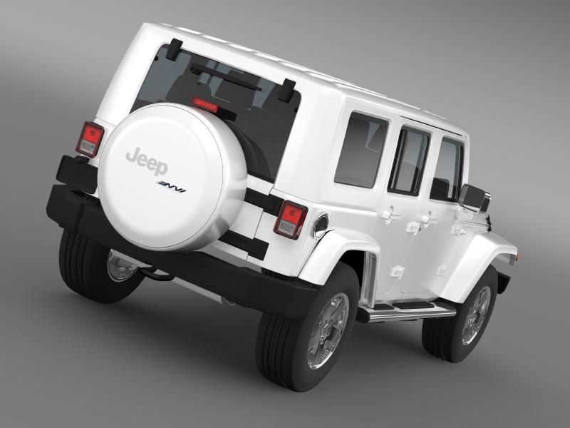 jeep wrangler unlimited envi 3d model 3ds max fbx c4d lwo ma mb hrc xsi obj 160269