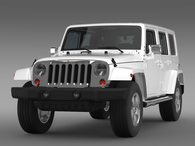jeep wrangler unlimited envi 3d model 3ds max fbx c4d lwo ma mb hrc xsi obj 160270