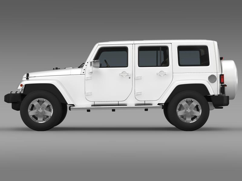 jeep wrangler unlimited envi 3d model 3ds max fbx c4d lwo ma mb hrc xsi obj 160273