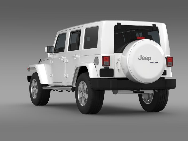 jeep wrangler unlimited envi 3d model 3ds max fbx c4d lwo ma mb hrc xsi obj 160275