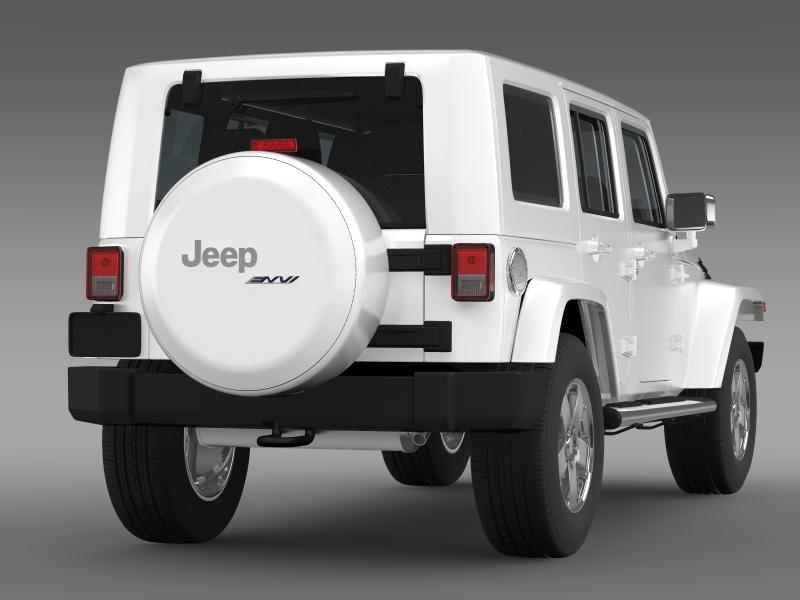 jeep wrangler unlimited envi 3d model 3ds max fbx c4d lwo ma mb hrc xsi obj 160276