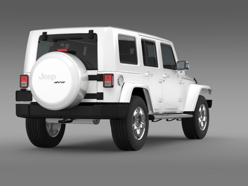 jeep wrangler unlimited envi 3d model 3ds max fbx c4d lwo ma mb hrc xsi obj 160277