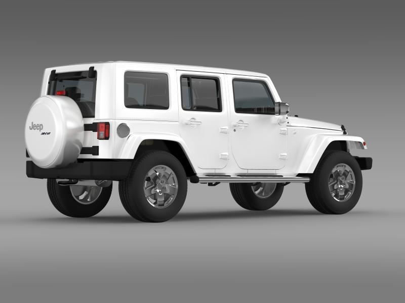 jeep wrangler unlimited envi 3d model 3ds max fbx c4d lwo ma mb hrc xsi obj 160278