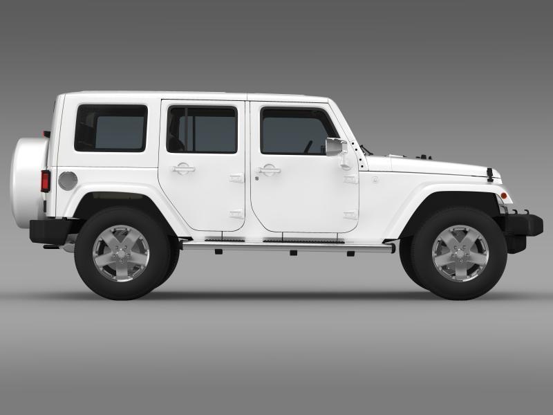 jeep wrangler unlimited envi 3d model 3ds max fbx c4d lwo ma mb hrc xsi obj 160279