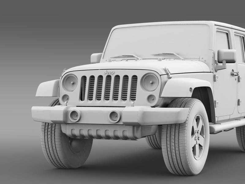 jeep wrangler unlimited envi 3d model 3ds max fbx c4d lwo ma mb hrc xsi obj 160285