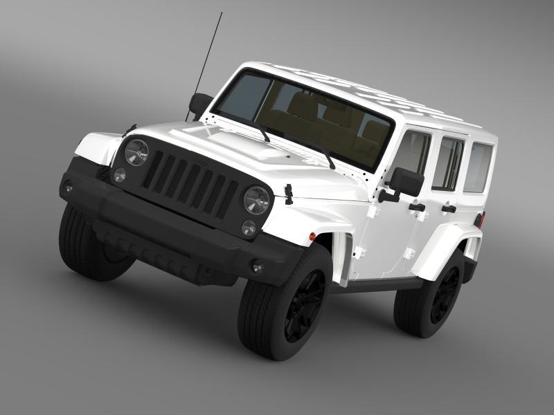 jeep wrangler neograničen rubicon x 2014 3d model 3ds max fbx c4d lwo ma mb hrc xsi obj 161876