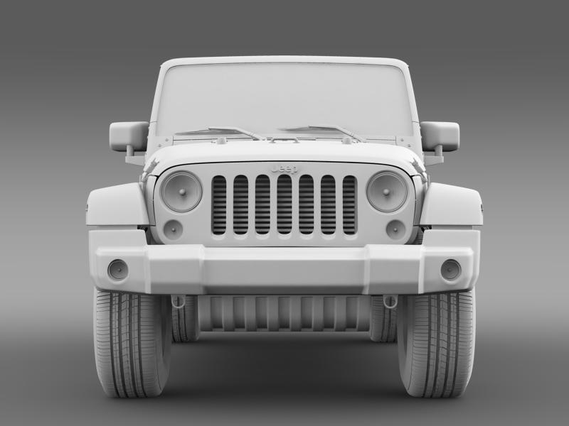 jeep wrangler unlimited sahara eu spec 2011 3d model 3ds max fbx c4d lwo ma mb hrc xsi obj 160303