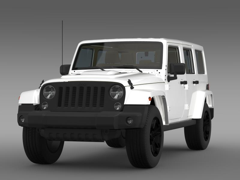jeep wrangler unlimited rubicon x 2014 3d model buy jeep wrangler unlimited rubicon x 2014 3d. Black Bedroom Furniture Sets. Home Design Ideas