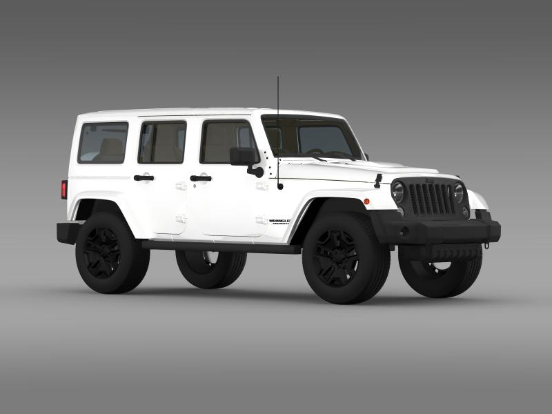 jeep rubicon 2014 white. jeep wrangler unlimited rubicon x 2014 3008kb jpg by creator_3d white v